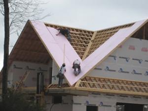 Вакансія різноробочого для будівництва дахів