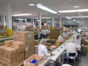 работа на конфетной фабрике в Польше