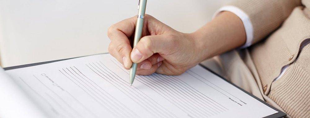 Заполнение анкеты для трудоустройства за границей