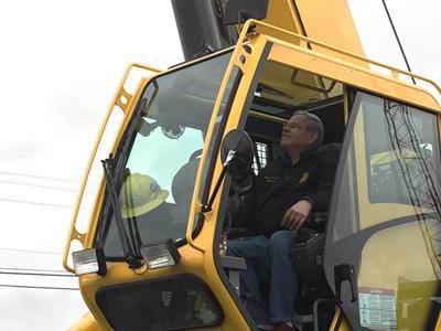 Робота машиніста крана на деревообробне підприємство в Литві
