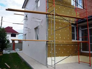 Работа по монтаже мокрых фасадов в Эстонии