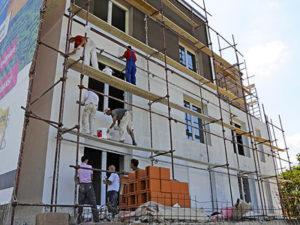 Робота фасадчика в Латвії