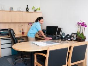 Робота прибиральниці офісних приміщень в Швеції