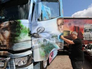 Работа дальнобойщика в Литве