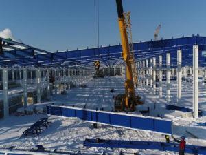 Робота монтажника металоконструкцій в Литві (Клайпеда)