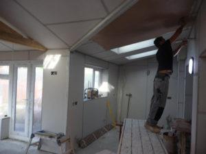 Робота будівельника внутрішнього оздоблення приміщень в Швеции