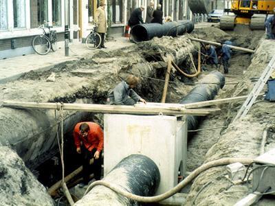 Вакансия экскаваторщика для прокладки канализации в Чехии