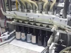 Сортировка стеклянных бутылок в Германии