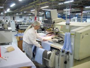 Работа для закройщика на швейную фабрику в Чехии