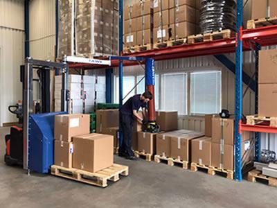Вакансия для комплектовщика на склад в Чехии