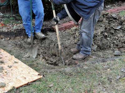 Вакансія для землекопа на будівництві в Литві