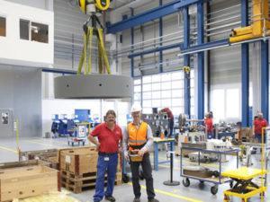 Работа для оператора крана на производстве в Польше