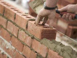 Работа для каменщика на строительство