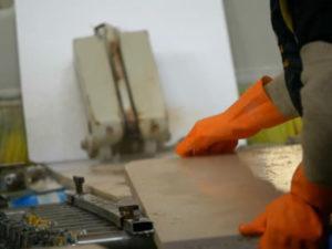 Работа для мраморщика на производстве