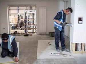Робота для підсобного робітника на будівництві