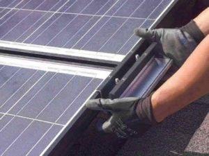 Работа по монтажу солнечних панелей для разнорабочего