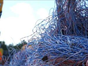 Работа на кабельном заводе по переработке кабелей