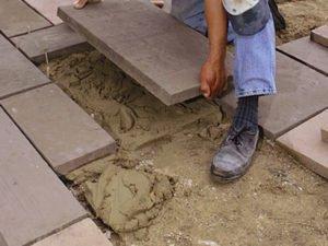 Работа для укладчика тротуарной плитки