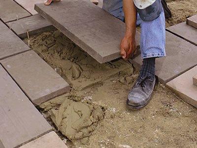 Вакансия для укладчика тротуарной плитки в Литве (Вильнюс)