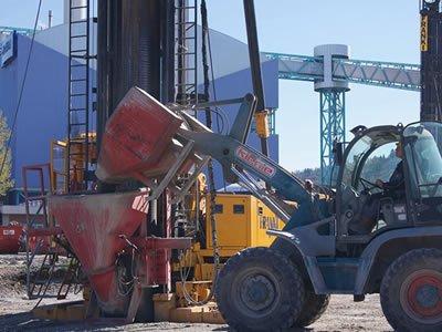 Работа для водителя погрузчика на бетонном заводе в Таллине