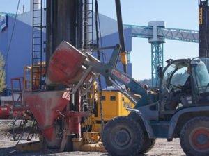 Робота на бетонному заводі для водія навантажувача