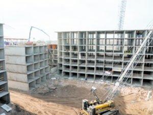установка монолитных конструкций