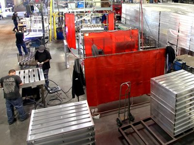 Нужны работники на производство металлических поддонов в Польше