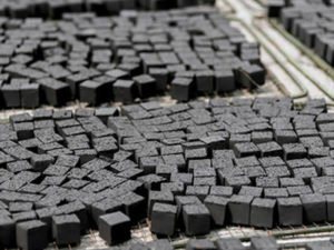 Работа по производству деревянных брикетов и древесинного угля