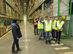 Работа для студентов на складе