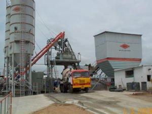 Работа на бетонном заводе