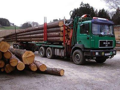 Вакансия для водителя лесовоза с манипулятором в Литве