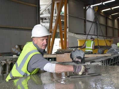 Вакансия для бетонщика на бетонном заводе в Чехии
