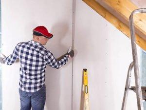 Работа для гипсокартонщика - регипщика на строительстве