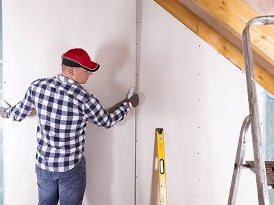 Вакансия для гипсокартонщика — регипщика на строительстве в Латвии