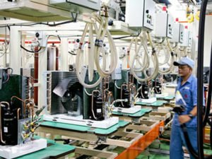 Работа по обслуживанию линии сборки или производства