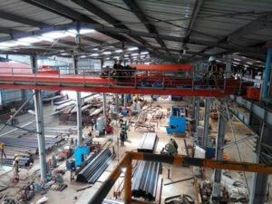 Потрібен працівник на завод по виготовленню металопрофілю