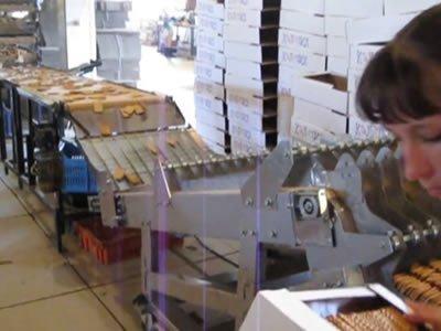 Вакансия для упаковщика печенья на крупной кондитерской фабрике в Польше