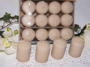 Работа на предприятии по упаковке и декорировании свечей