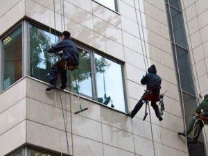 Робота монтажника алюмінієвих вентильованих фасадів