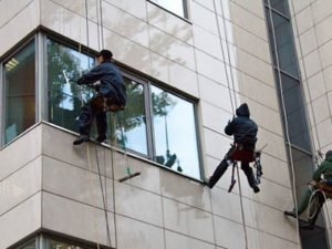 Работа монтажника алюминиевых вентилируемых фасадов