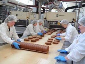 Работа на кондитерской фабрике - пекарни