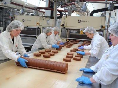 Вакансия для работника на шоколадной фабрике — пекарни в Польше