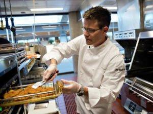 Работа на кухне Макдональдса
