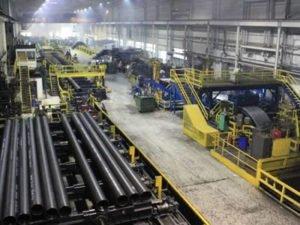 Робота на виробництві сталевих труб
