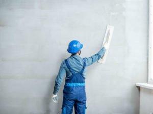 Работа для штукатурщика на строительном обьекте
