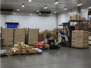 Работа на пищевом прохладном складе «CARREFOUR»