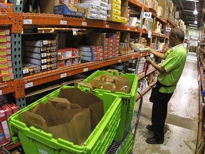 Вакансия для работника на складе интернет магазина Rohlik в Чехии
