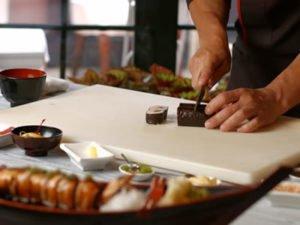 Робота для суші майстра в японському ресторані
