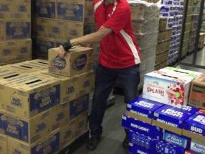 Работа на складе супермаркета Ашан