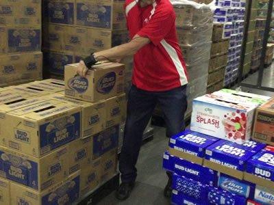 Вакансия для работника склада супермаркета Ашан в Польше